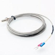 Temperature probe thermocouple type K, 400C, m6, 3m