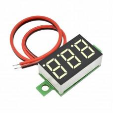 Digital voltmeter 3-32v DC