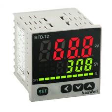 Maxwell MTD Temperature PID Controller 72x72 Relay/Voltage
